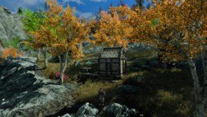 мод пышные деревья скайрим