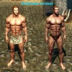 скайрим мод реплейсер мужских тел